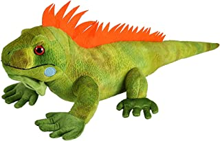 Wild Republic Iguana Plush, Stuffed Animal, Plush Toy, Kids Gifts, Cuddlekins, 15 Inches