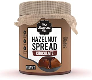 The Butternut Co. Chocolate Hazelnut Spread, 200 gm (No Refined Sugar, Vegan, No Preservatives)