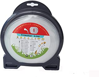 BlueCatELE .065 Grass Trimmer Line String Trimmer Line 1 Pound Round