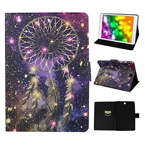Asnlove Galaxy Tab A 9.7 T550 Tablette Flip Cas, Coque Tablette PU Cuir Housse Fente pour Carte Fermoir Magnétique Support Flip Étui Protection Pochette pour Samsung Galaxy Tab A 9.7 SM-T550 T555