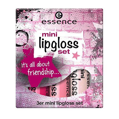 essence - Lipgloss Set - mini lipgloss set 08 - we rock the world