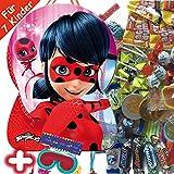 Pinata-Set * Miraculous Ladybug * mit XXL-Piñata + Maske + 100-teiliges Süßigkeiten-Füllung No.1...