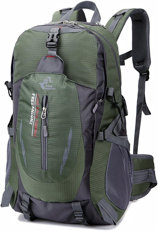 Backpacks Multifunctional Waterproof Hiking Backpack Sports Travel Outdoor Camping Backpack Waterproof Mountaineering Bag (color   Green)