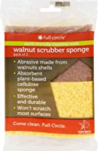 Walnut Scrubber Sponge, 2 ct, 6-pack (12 Sponges)