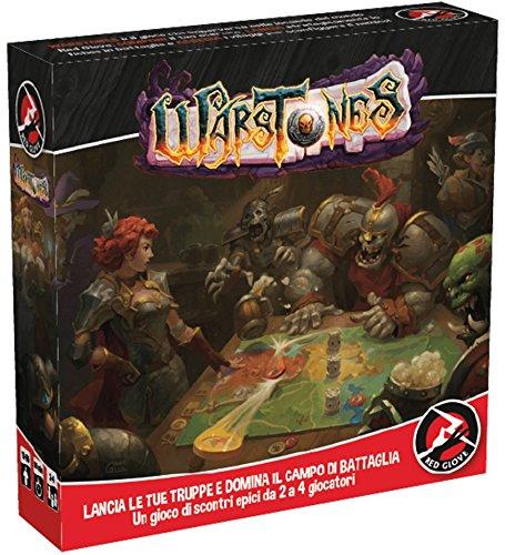 Red Glove- World_of_Warcraft Warstones Gioco da Tavolo, RG2057