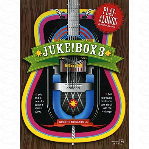 Juke Box 3 - arrangiert für Gitarre - (für ein bis zwei Instrumente) [Noten/Sheetmusic] Komponist : MORANDELL ROBERT