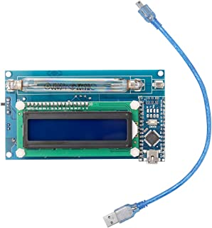 Tykeed Assembled DIY Geiger Counter Kit Module Nuclear Radiation Detector with LCD Display