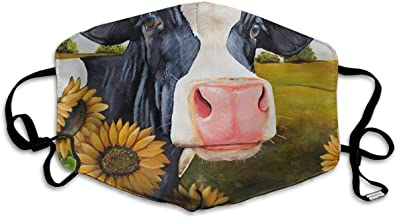 Baggage Covers Animal Cow Cattle Farming Black White Washable Protective Case