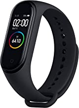 Xiaomi Smart Watch Rubber Band For Android & iOS,Black - xmsh07hm