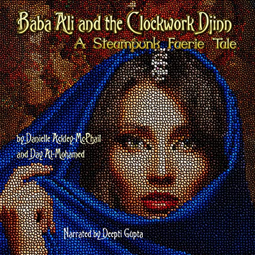 『Baba Ali and the Clockwork Djinn』のカバーアート