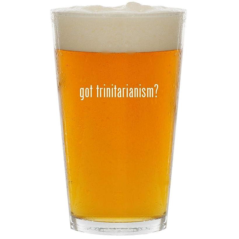 got trinitarianism? - Glass 16oz Beer Pint
