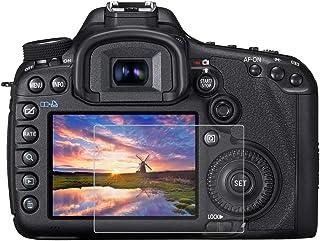 BYbrutek Protector de Pantalla de Vidrio Templado para Canon 5D Mark III 03 mm Ultratransparente Lámina de protección LCD con Dureza 9H Antiarañazos sin Burbujas Antihuellas (5D Mark III)