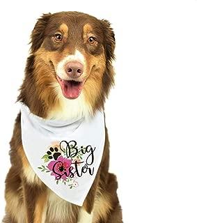 Best dog big sister bandana Reviews