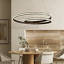 ZCdd Modern Led Chandelier Dining Table Hanging Lamp Living Room Ceiling Light Bedroom Height Adjustable