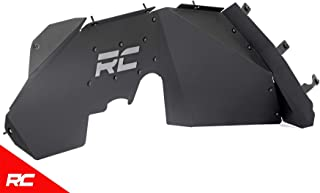 Rough Country 1195 Front Steel Inner Fenders Liners Compatible w/ 2007-2018 Jeep Wrangler JK
