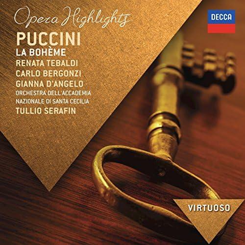 Renata Tebaldi, Carlo Bergonzi, Gianna D'Angelo, Orchestra dell'Accademia Nazionale di Santa Cecilia & Tullio Serafin