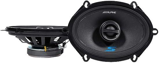 Alpine S-S57 5x7 Inch Coaxial Speaker Set photo