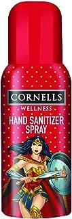 Cornells Wellness Instant Hand Sanitizer Spray - Wonder Woman Cartoon Character – 100ml – 100+ Sprays Of Protection - Kill...