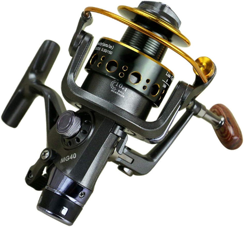 Fishing Reel, Squid Fishing Reel Mg3060 Double Unloading Metal Head Front and Rear Brakes Fishing Rod Fishing Gear