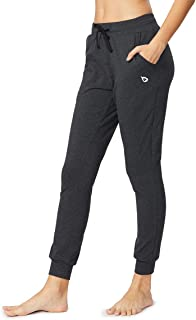 Women Active Lounge Sweatpants Running Jogger Yoga Pants with Pockets