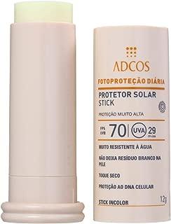 Protetor Solar Stick Incolor FPS 70 Incolor (12g) - ADCOS