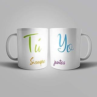 """Pack de 2 tazas""""Tu y Yo - Siempre juntos"""""""