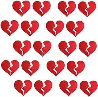 10 Paare Herzform Nippel Klebend Brustwarzen Paste Einweg Brust Aufkleber
