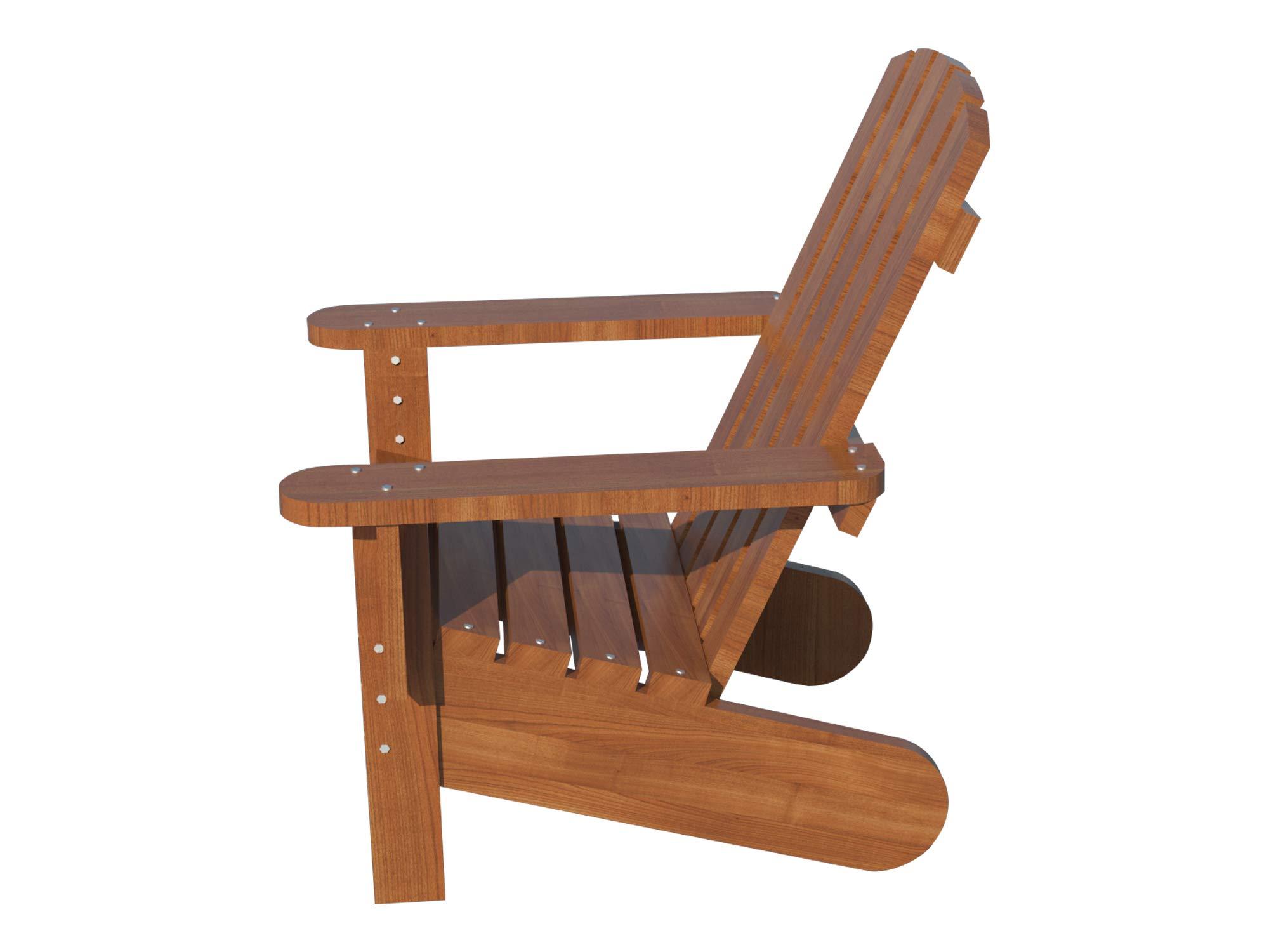 DIY Plans Store Banqueta para sillas de Exterior de Madera para jardín, jardín, Patio, jardín, etc.: Amazon.es: Jardín