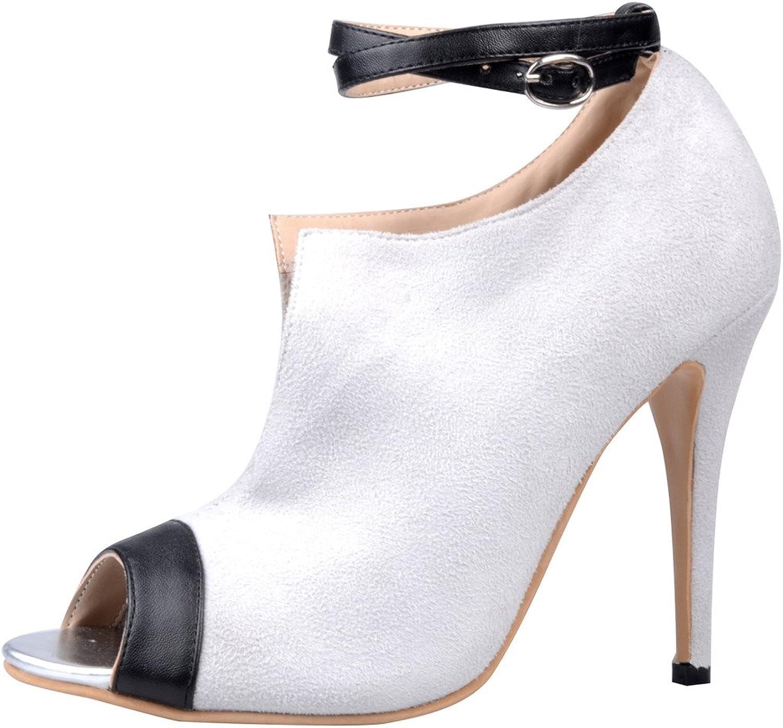 Calaier kvinnor Cahall Cahall Cahall Peep Toe 11CM Stiletto Buckle Sandals skor  med 100% kvalitet och% 100 service