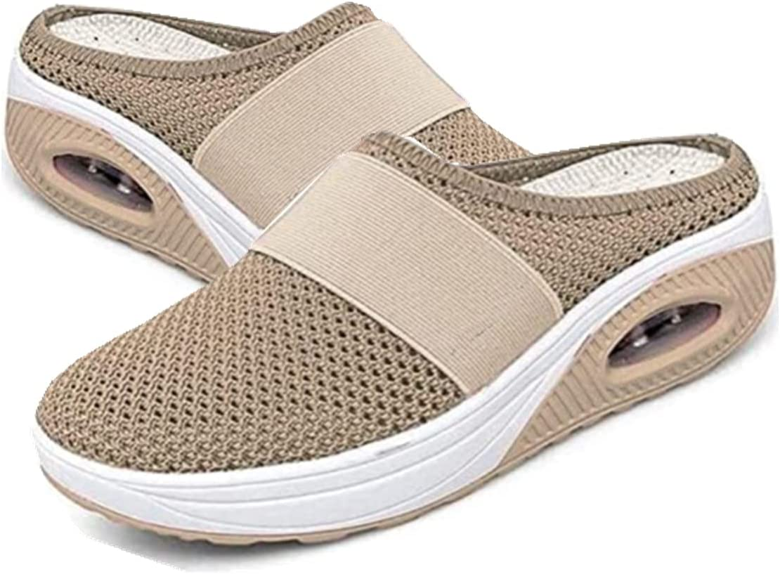 MLOD Women's Outlet sale feature Air Cushion Walking Slip-On Diabet Baltimore Mall Shoes-Orthopedic