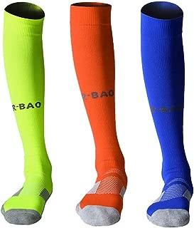 Mens Womens Long Sports Socks Athletic Compression Sock For Soccer Running Baseball Hockey Yoga - Knee High
