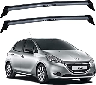 Rack New Wave Peugeot 208 2013 / 2019 Cinza Eqmax