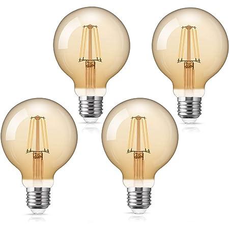 E27 Screw Edison Dimmable Tungsten Filament Bulbs 40W Home Lighting Retro Style
