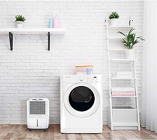 Frigidaire FAD301NWD Powerful 30 Pints Medium Room Home Odor Removing Dehumidifier Portable Unit, White (Renewed)