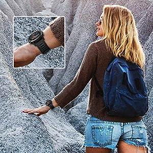 SUPORE Garmin Fenix 3 Correa de Reloj, reemplazo Respirable Suave del silicón Pulsera Hermosa Deporte y edición para Fenix 3/Fenix 3 HR/Fenix 5X Multi-Colors Smart Watch