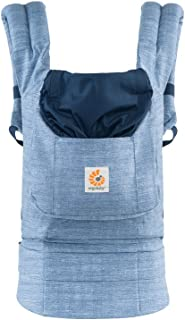 Ergobaby 原创获*人体工程学多位置婴儿背带,带超大储物袋,复古蓝色