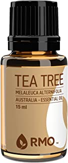 Rocky Mountain Oils - 100% Pure Tea Tree Essential Oil - Promotes Healthy Function of Immune System, and Helps in Skin Care; Best for Diffusion and Topical Application - 15 ml