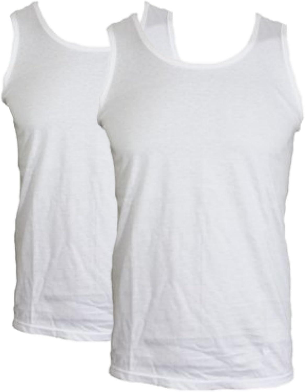 Details about  /1//3//6 lot Mens Pure 100/% Cotton Single Jersey White Black Mix Vest Top UK S-5XL