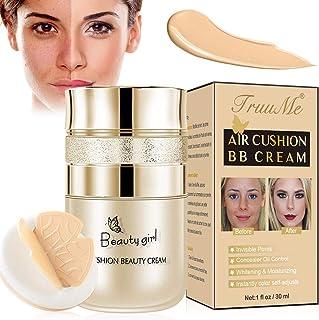 CC Cream BB Cream Base de Maquillaje Corrector Base Duradera Hidratación Brillo Color Reparación Maquillaje Base CC Cr...