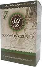 solomon grundy wine