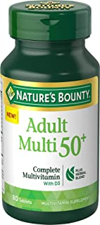 Nature's Bounty Adult 50+ Complete Multivitamin, 80 Tablets