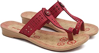 ASIAN Women's Slippers (Brown_8 UK)