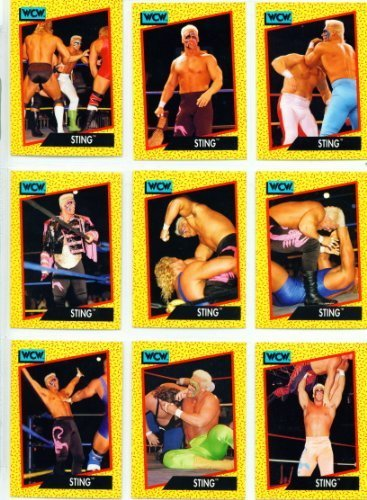 Impel WCW World Championship Wrestling Trading Card Base Set by Impel