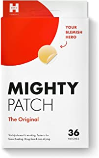 Best Mighty Patch Original - Hydrocolloid Acne Pimple Patch Spot Treatment (36 count) for Face, Vegan, Cruelty-Free… Reviews