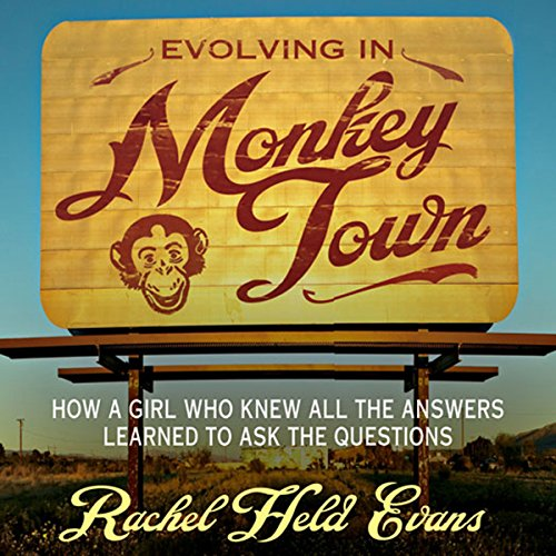 Evolving in Monkey Town audiobook cover art