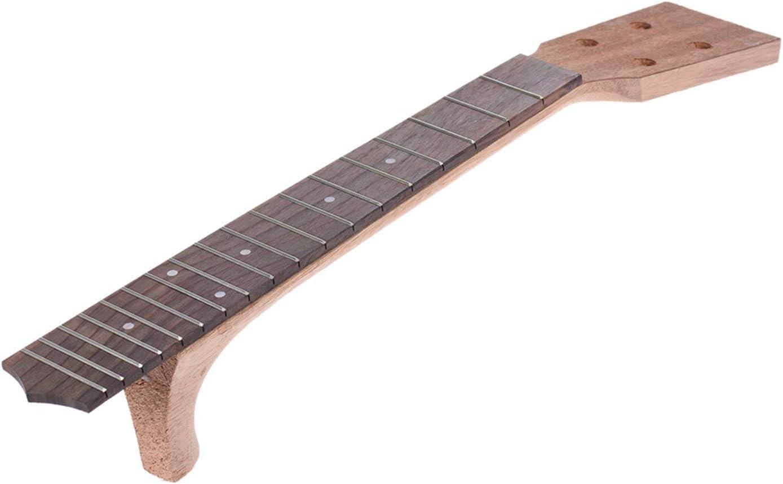 KJGHJ Trastes Mástil de Guitarra Eléctrica Cuello De Guitarra Reemplazo De Cuello De 26 Pulgadas Conjunto De Diapasón De Diapasón De Diapasón De Guitarra Luthier DIY Repelement Cuellos De Guitarra