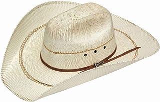cc1ef2f7b7f Twister Men s Bangora Maverick Colton Straw Cowboy Hat Natural 7 ...