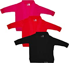 GOODTRY G Girl's Viscose Shrug Pack of 3 Multicolor