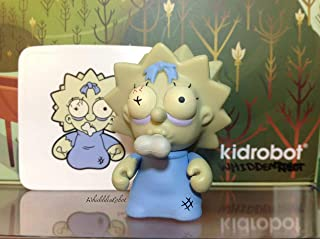 Kidrobot Simpsons Series 2 Zombie Maggie New W/Box & Card (Opened only to Identify)