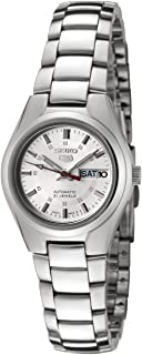 Women's SYMC21 Seiko 5 Automatic Silver Dial Stainless Steel Watch